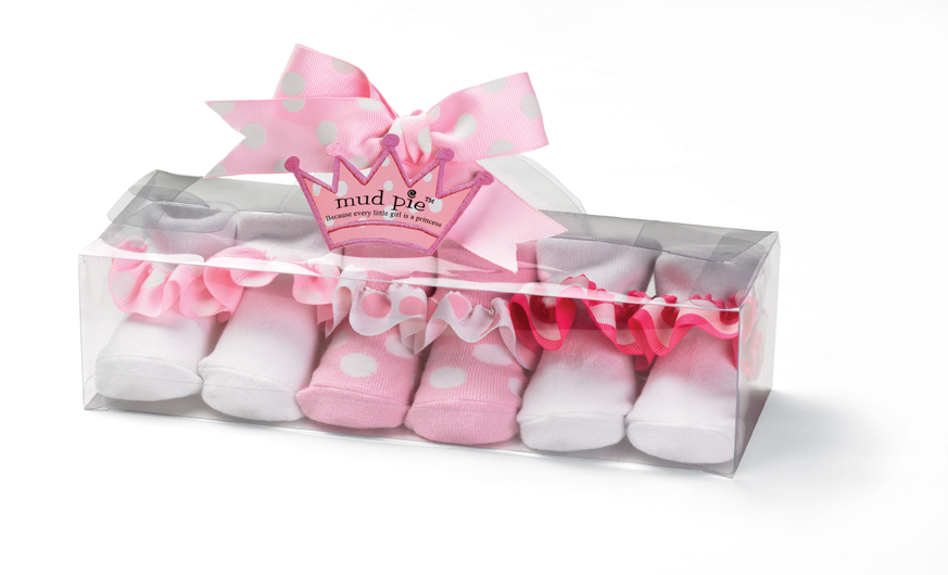 Princess Ruffle Sock Set for Baby Girls