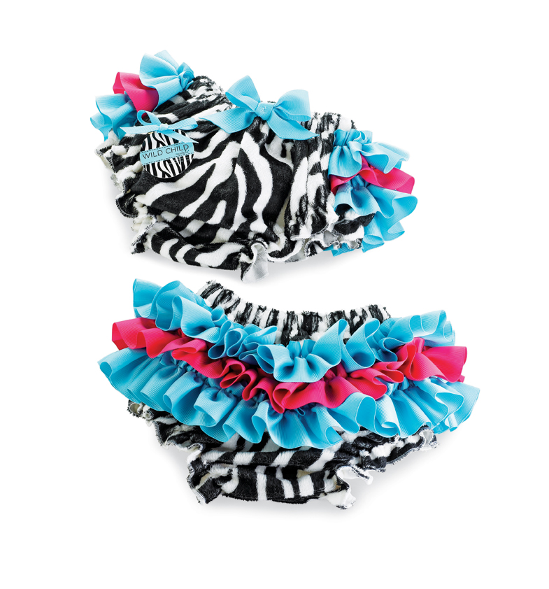 Mud Pie Zebra Bloomers
