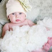 Pettiskirt Newborn Cream