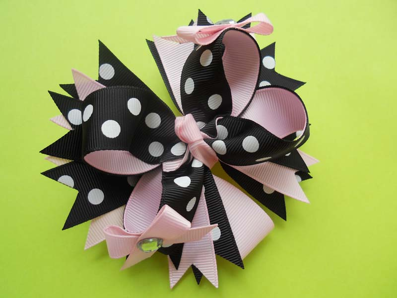 Diamonte Diva Hair Bow