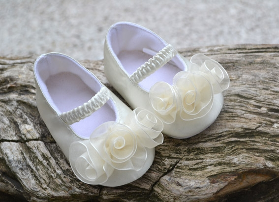 Champagne Wedding/Christening Shoes