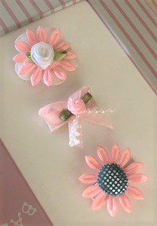 Flower Power Baby Hair Clips