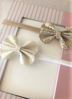 Baby Glitter Bows Headbands