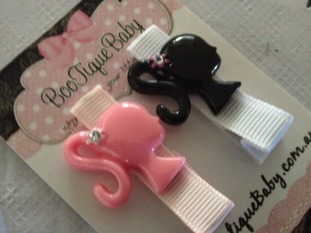 Barbie Hair Clip Set