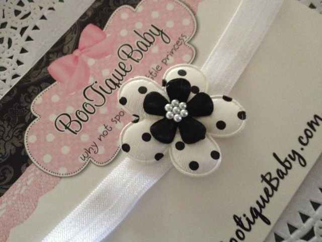 Dalmation Dot Headband