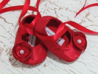 Ruby Red Ballet Shoes